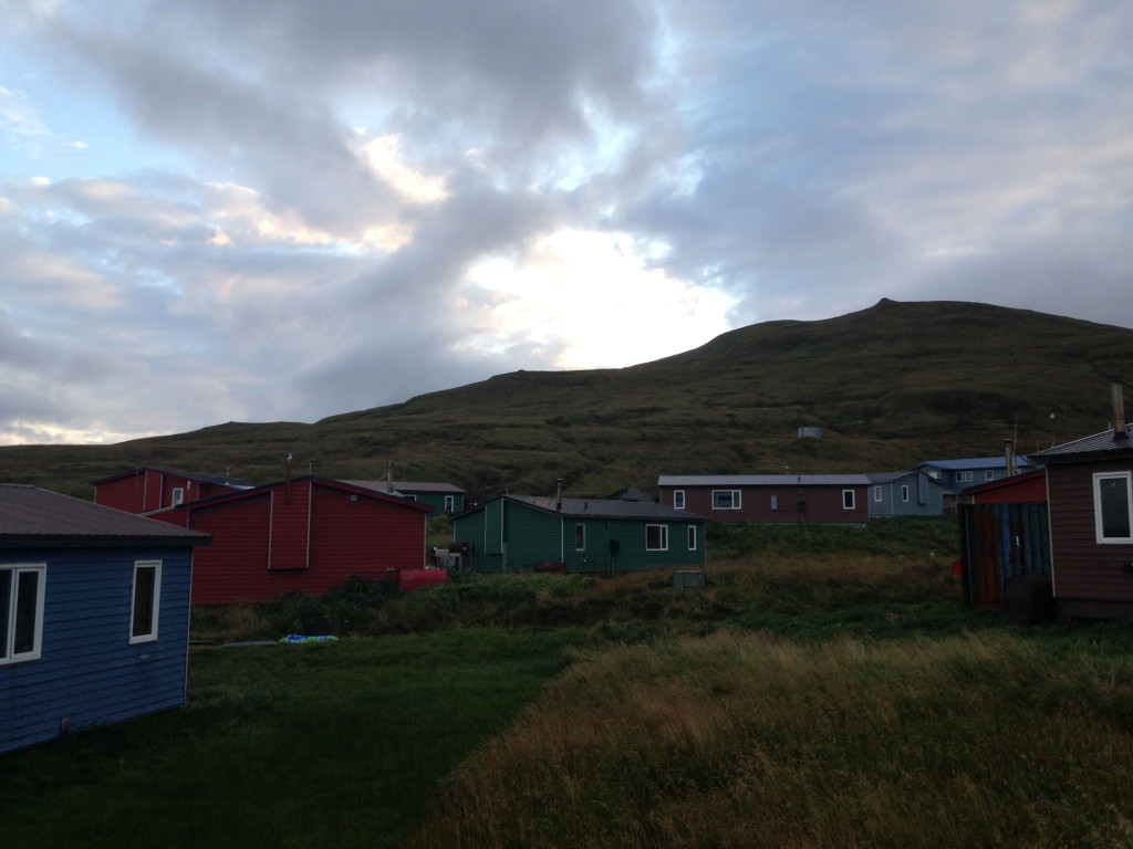 View of Atka Village