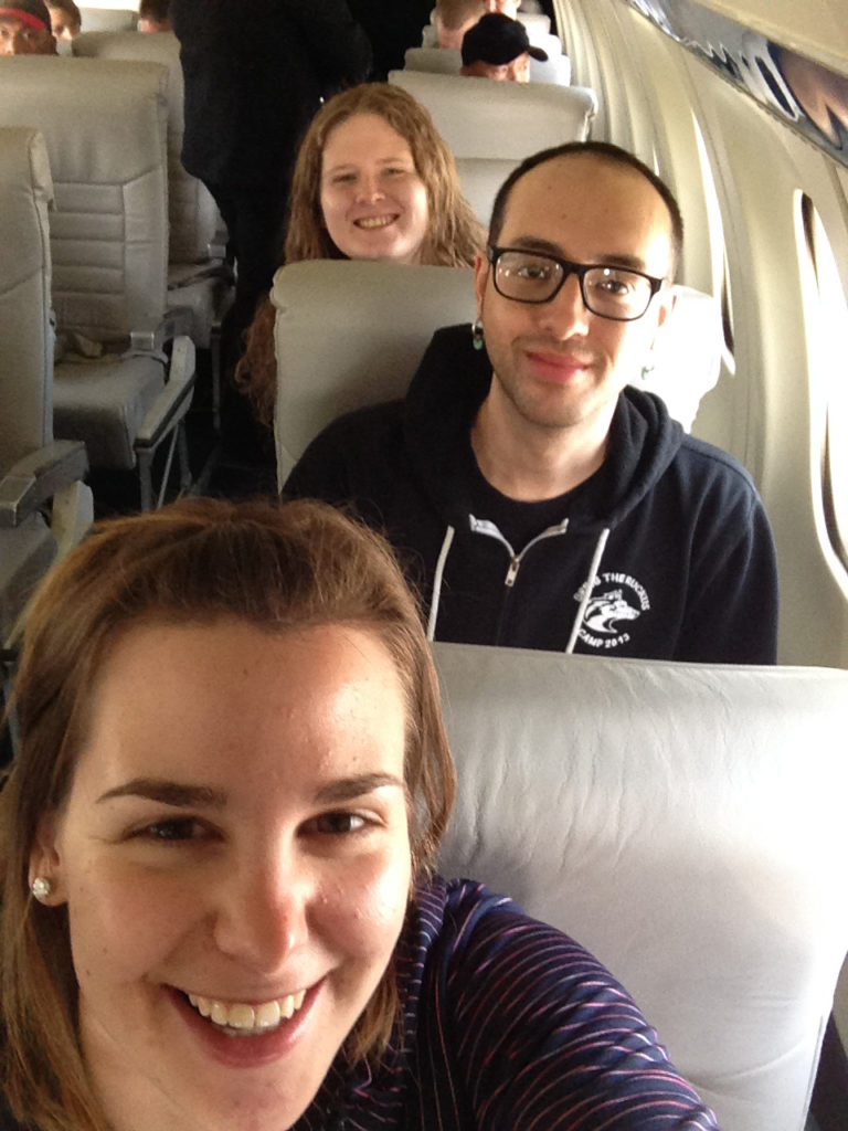 WAYK Interns en route to Dutch Harbor, Alaska