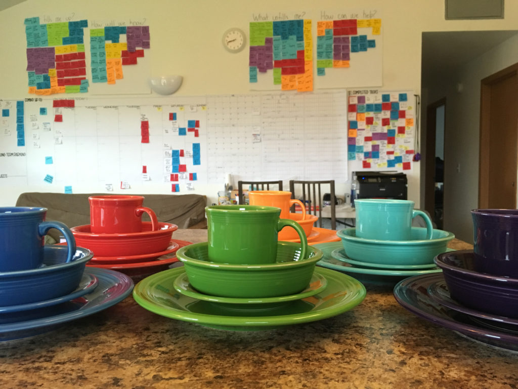 Color-Coding Abounds at the WAYK House